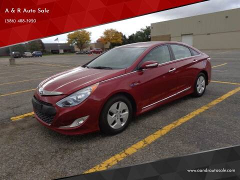 2012 Hyundai Sonata for sale at A & R Auto Sale in Sterling Heights MI