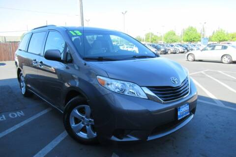 2013 Toyota Sienna for sale at Choice Auto & Truck in Sacramento CA