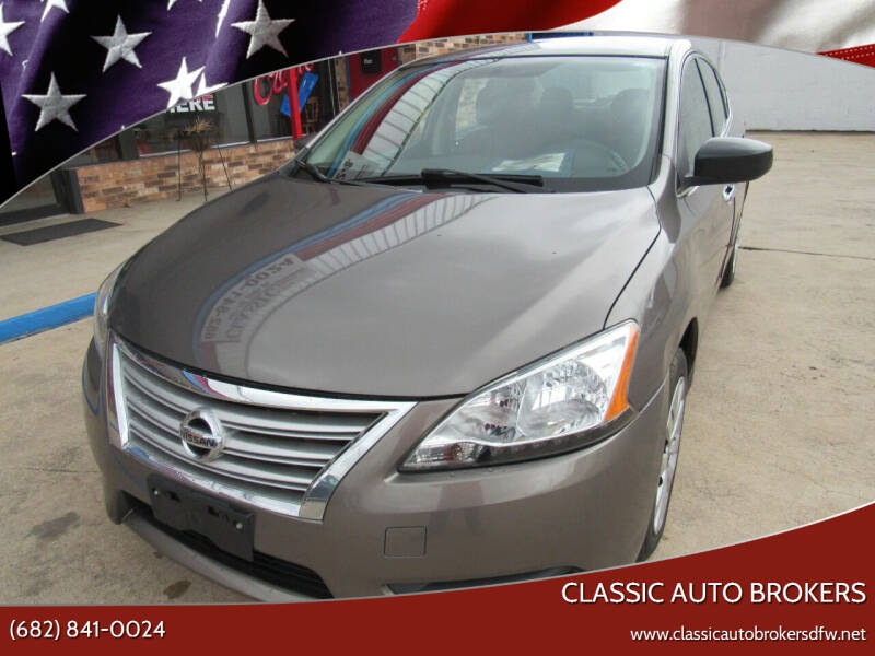 2015 Nissan Sentra for sale at Classic Auto Brokers in Haltom City TX