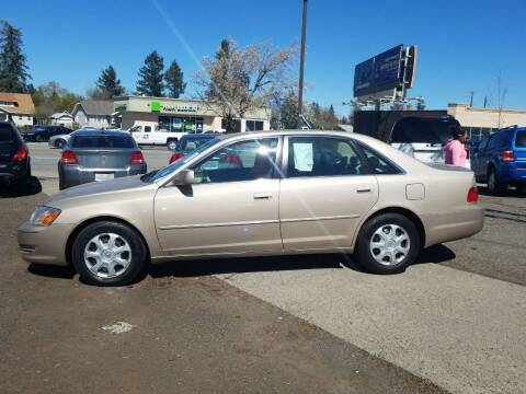 2003 Toyota Avalon for sale at 2 Way Auto Sales in Spokane Valley WA