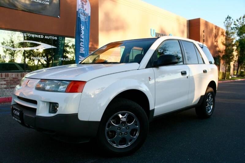 2003 Saturn Vue for sale at CK Motors in Murrieta CA