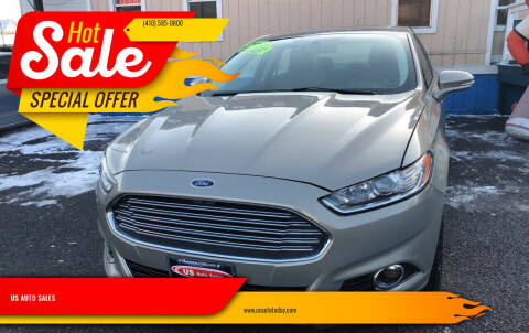 2016 Ford Fusion for sale at US AUTO SALES in Baltimore MD