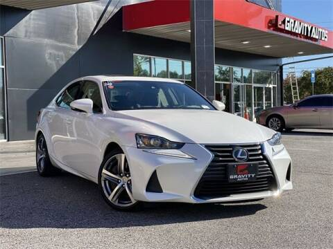 2017 Lexus IS 300 for sale at Gravity Autos Roswell in Roswell GA