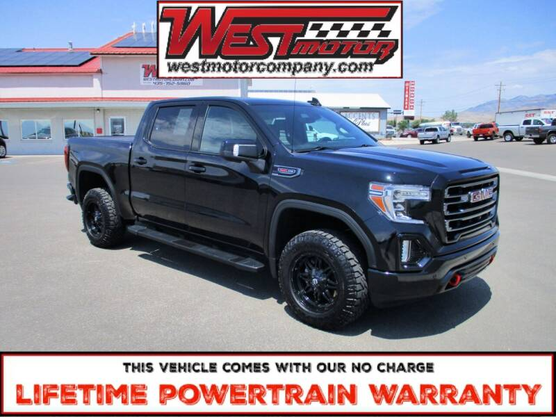 2019 GMC Sierra 1500 for sale at West Motor Company in Hyde Park UT