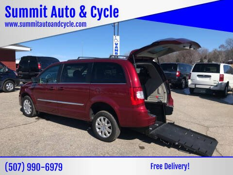 2014 Chrysler Town and Country for sale at Summit Auto & Cycle in Zumbrota MN