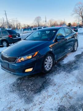 2015 Kia Optima for sale at Rocket Cars Auto Sales LLC in Des Moines IA