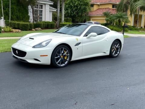 2013 Ferrari California for sale at AUTOSPORT in Wellington FL