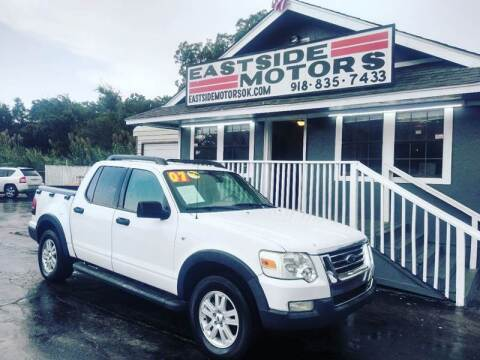2007 Ford Explorer Sport Trac for sale at EASTSIDE MOTORS in Tulsa OK