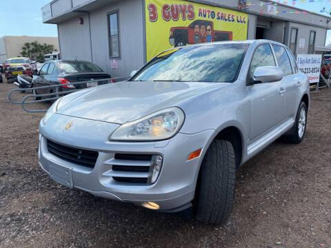 2008 Porsche Cayenne for sale at 3 Guys Auto Sales LLC in Phoenix AZ
