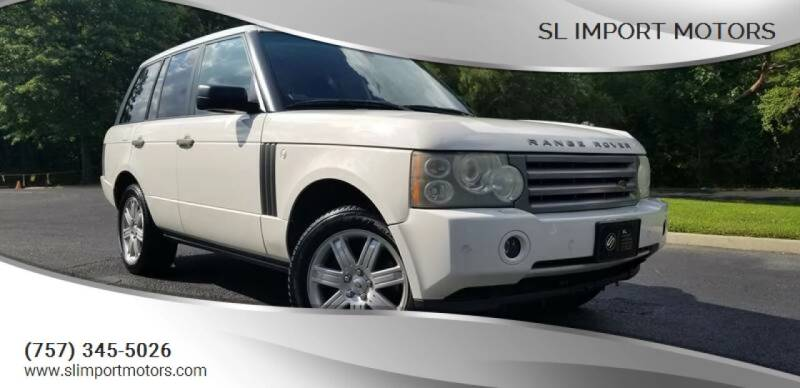2008 Land Rover Range Rover for sale at SL Import Motors in Newport News VA
