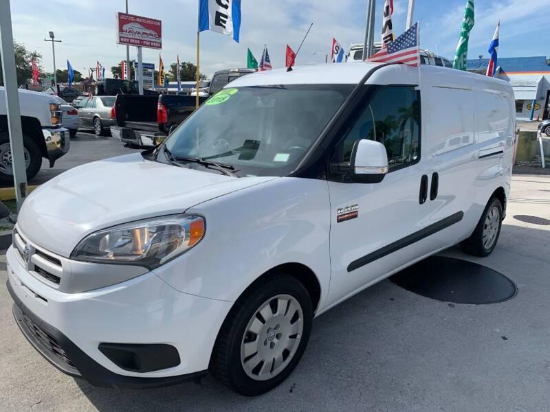 2015 RAM ProMaster City Cargo for sale at Navarro Auto Motors in Hialeah FL