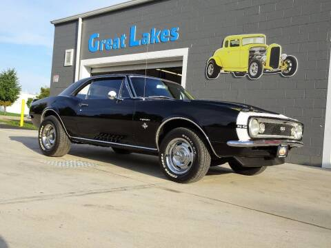 1967 Chevrolet Camaro for sale at Great Lakes Classic Cars & Detail Shop in Hilton NY
