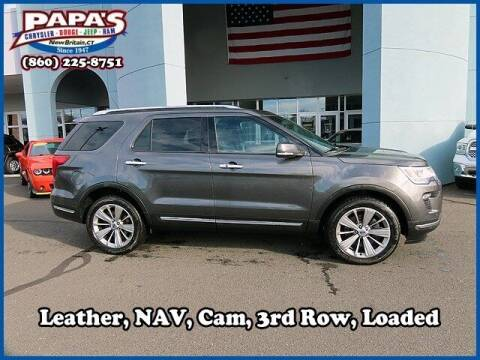 2018 Ford Explorer for sale at Papas Chrysler Dodge Jeep Ram in New Britain CT