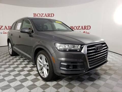 2018 Audi Q7 for sale at BOZARD FORD in Saint Augustine FL