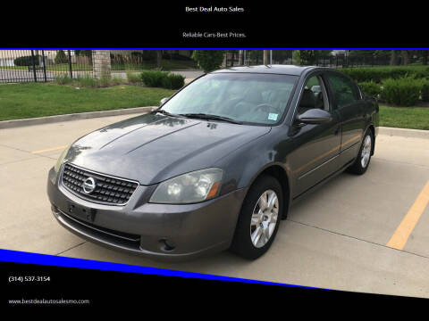 2006 Nissan Altima for sale at Best Deal Auto Sales in Saint Charles MO