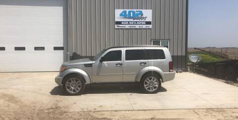 2008 Dodge Nitro for sale at 402 Autos in Lindsay NE
