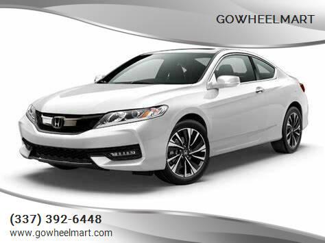 2015 Honda Accord for sale at GOWHEELMART in Leesville LA