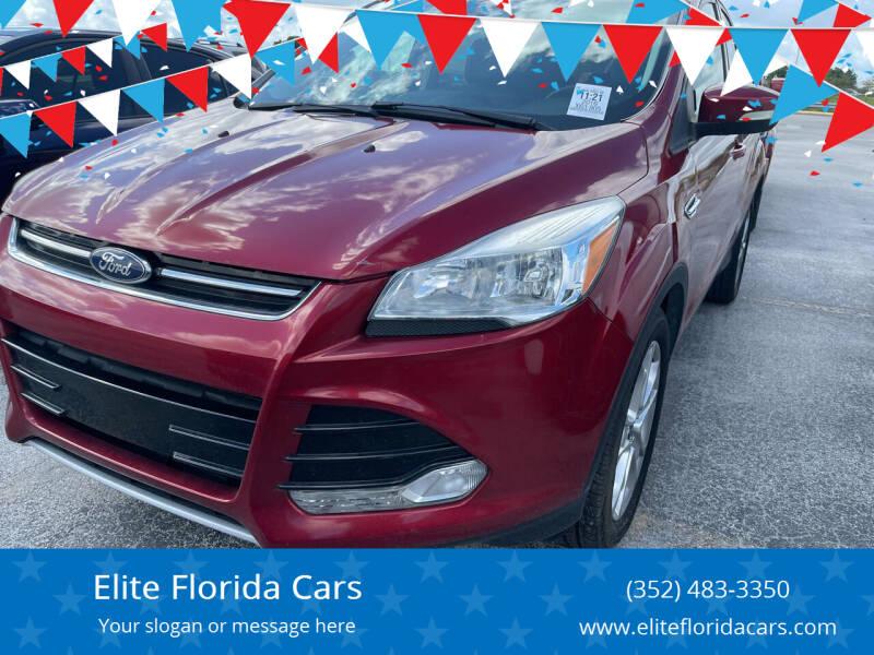 2016 Ford Escape for sale at Elite Florida Cars in Tavares FL