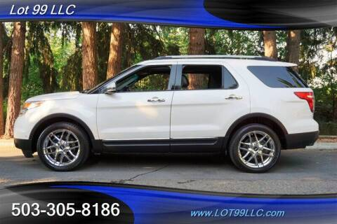 2013 Ford Explorer for sale at LOT 99 LLC in Milwaukie OR