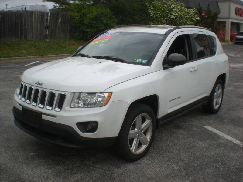 2012 Jeep Compass for sale at 611 CAR CONNECTION in Hatboro PA