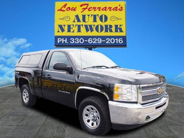 2013 Chevrolet Silverado 1500 for sale at Lou Ferraras Auto Network in Youngstown OH
