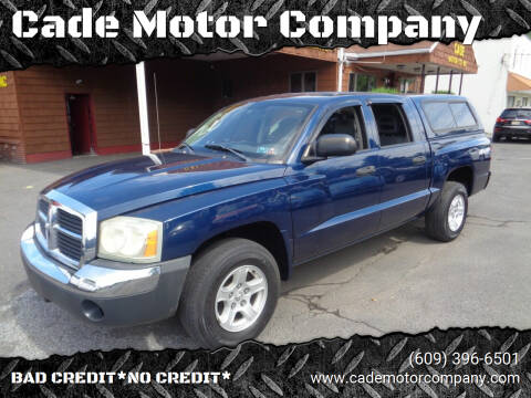 2005 Dodge Dakota for sale at Cade Motor Company in Lawrenceville NJ