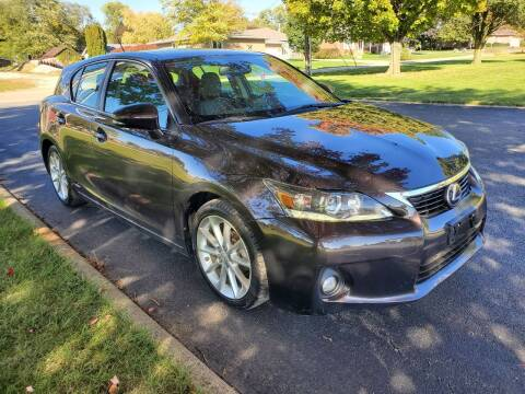 2012 Lexus CT 200h for sale at Tremont Car Connection in Tremont IL