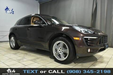 2015 Porsche Macan for sale at AUTO HOLDING in Hillside NJ