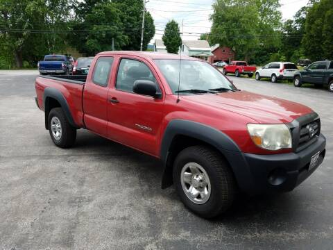 2010 Toyota Tacoma for sale at CURTIS AUTO SALES in Pittsford VT