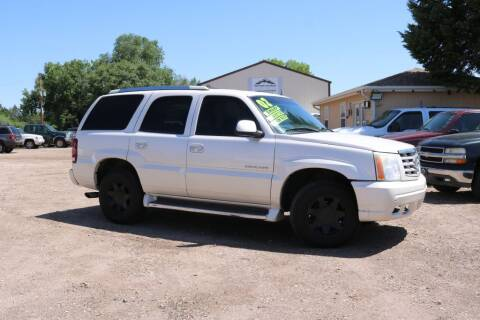 2002 Cadillac Escalade for sale at Northern Colorado auto sales Inc in Fort Collins CO