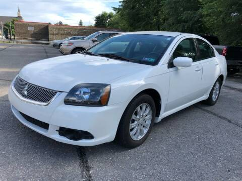 2011 Mitsubishi Galant for sale at SARRACINO AUTO SALES INC in Burgettstown PA