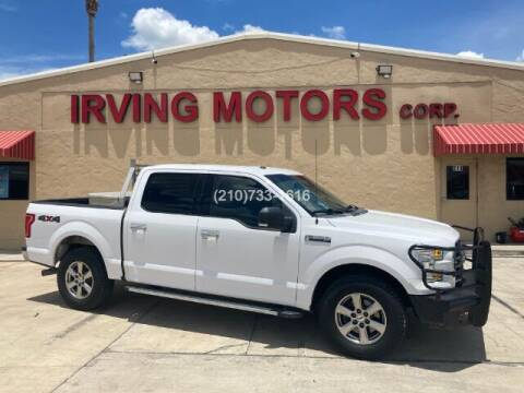2016 Ford F-150 for sale at Irving Motors Corp in San Antonio TX