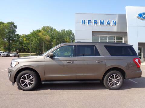 2019 Ford Expedition MAX for sale at Herman Motors in Luverne MN