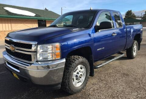 2013 Chevrolet Silverado 2500HD for sale at Central City Auto West in Lewistown MT