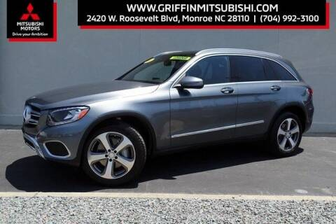 2016 Mercedes-Benz GLC for sale at Griffin Mitsubishi in Monroe NC