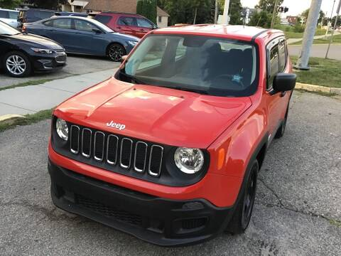 2016 Jeep Renegade for sale at One Price Auto in Mount Clemens MI