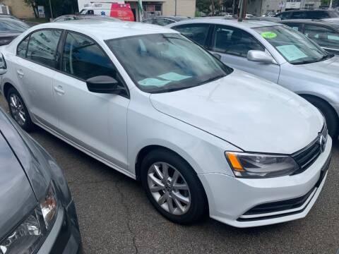 2015 Volkswagen Jetta for sale at Park Avenue Auto Lot Inc in Linden NJ