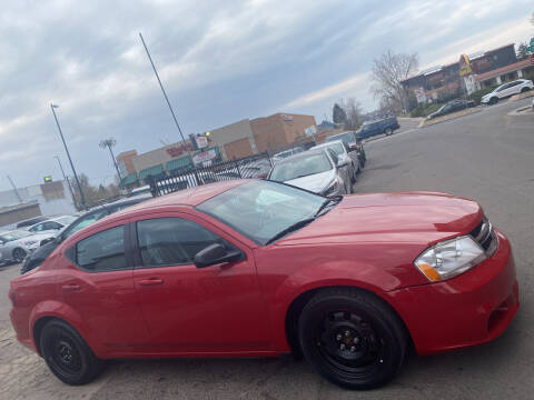 2014 Dodge Avenger for sale at Sanaa Auto Sales LLC in Denver CO