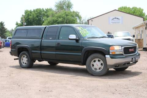 2001 GMC Sierra 1500 for sale at Northern Colorado auto sales Inc in Fort Collins CO