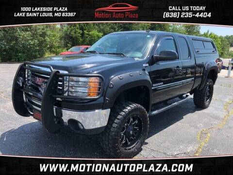 2012 GMC Sierra 1500 for sale at Motion Auto Plaza in Lakeside MO