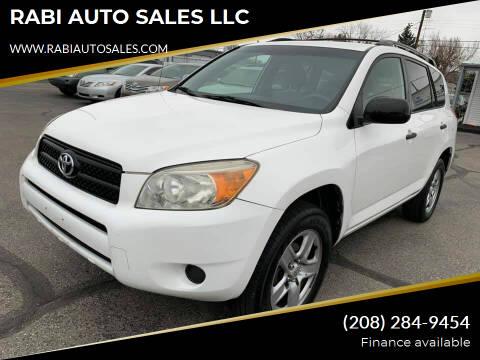 2007 Toyota RAV4 for sale at RABI AUTO SALES LLC in Garden City ID