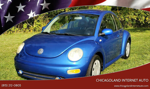 2001 Volkswagen New Beetle for sale at Chicagoland Internet Auto - 410 N Vine St New Lenox IL, 60451 in New Lenox IL