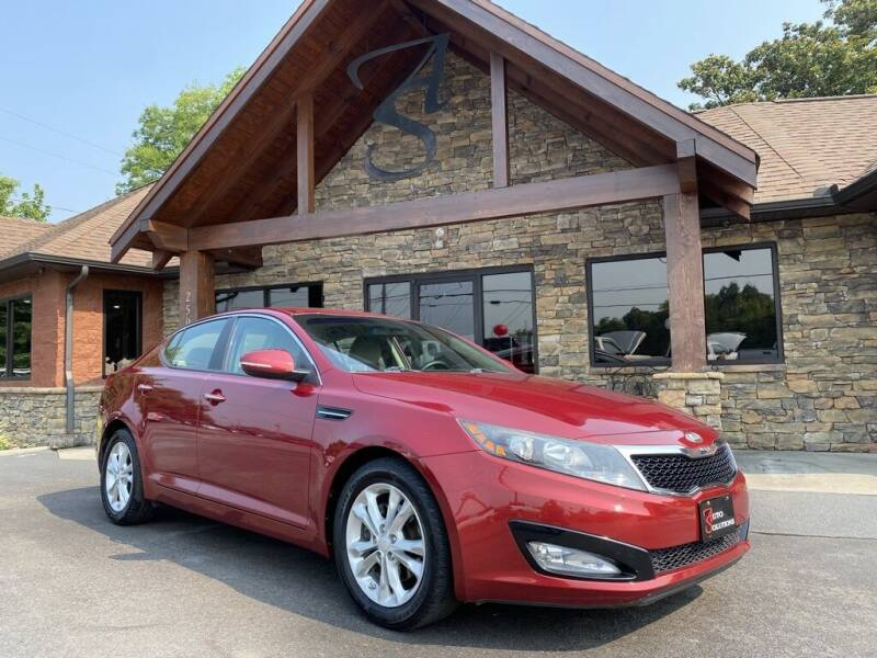2013 Kia Optima for sale at Auto Solutions in Maryville TN