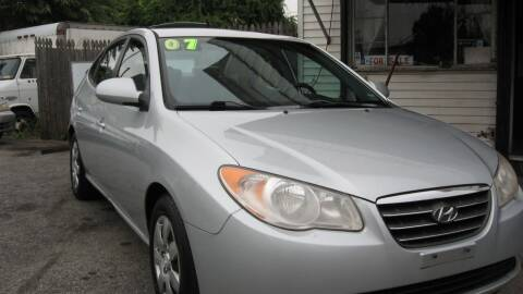 2007 Hyundai Elantra for sale at JERRY'S AUTO SALES in Staten Island NY