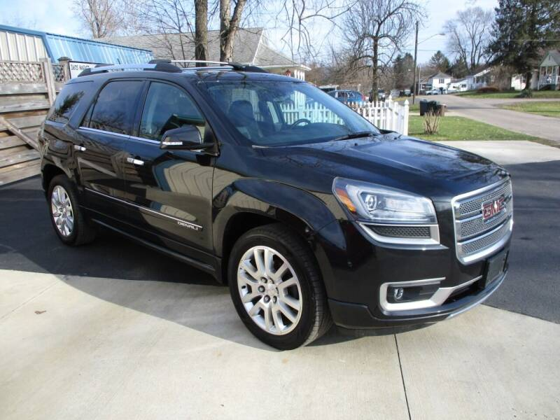 2015 GMC Acadia for sale at Classics and More LLC in Roseville OH