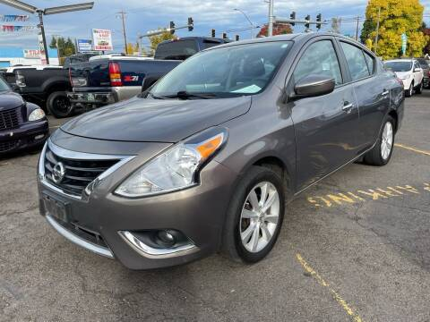 2015 Nissan Versa for sale at Stag Motors in Portland OR