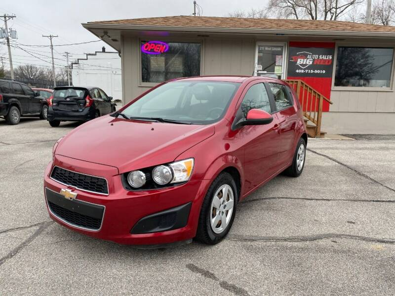 2014 Chevrolet Sonic for sale at Big Red Auto Sales in Papillion NE