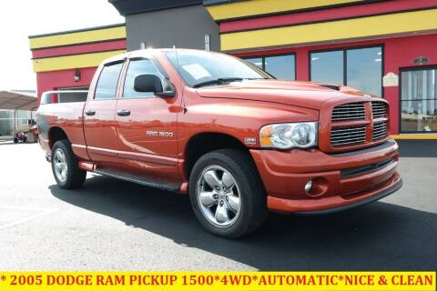 2005 Dodge Ram Pickup 1500 for sale at L & S AUTO BROKERS in Fredericksburg VA