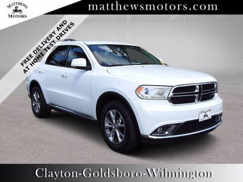 2016 Dodge Durango for sale at Auto Finance of Raleigh in Raleigh NC