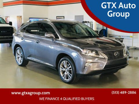 2014 Lexus RX 350 for sale at GTX Auto Group in West Chester OH